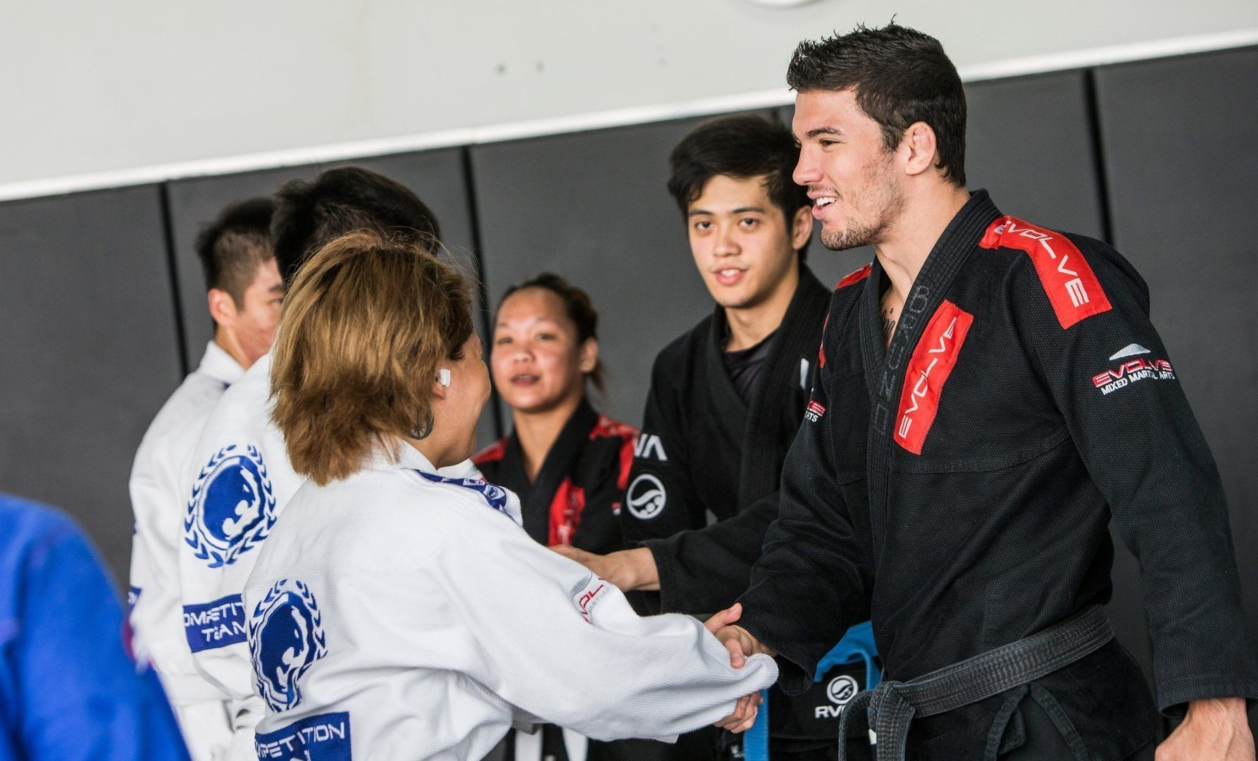 BJJ World Champion Bruno Pucci teaches at Evolve MMA