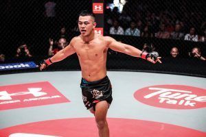 Ev Ting Explains The Significance Of His Post-Fight Celebration