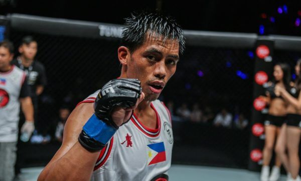 Team Lakay's Honorio Banario, former ONE Featherweight World Champion