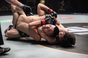 Marat Gafurov's Astonishing 6 Straight Rear-Naked Choke Wins