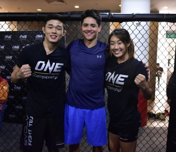 Olympic Gold Medalist Joseph Schooling Trains Martial Arts With Lee Siblings