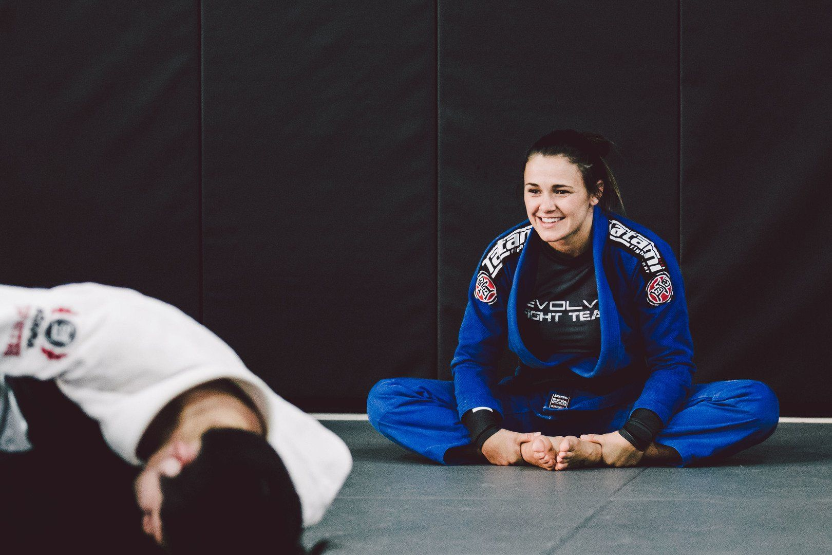 Eight-time BJJ World Champion Michelle Nicolini