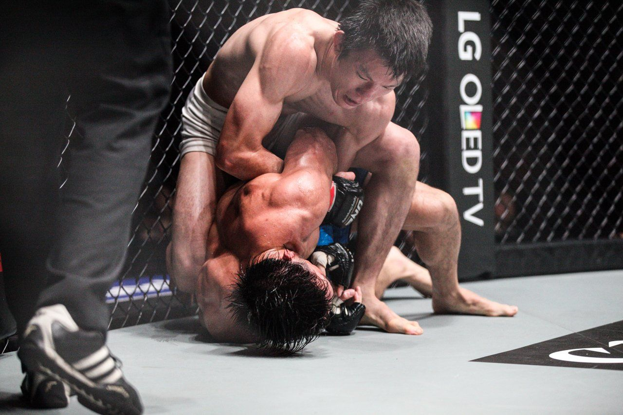 Shinya Aoki Locks In HIs Trademark Submission