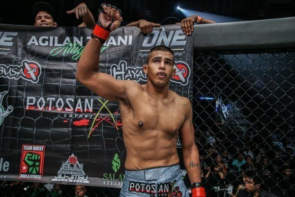 How Agilan Thani Lost 60kg To Become A Welterweight Contender