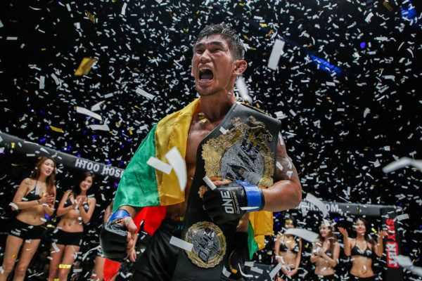 ONE Middlweight World Champion and Myanmar mixed martial arts superstar Aung La N Sang
