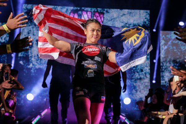 Ann Osman Dominates With TKO Win Against Vy Srey Khouch