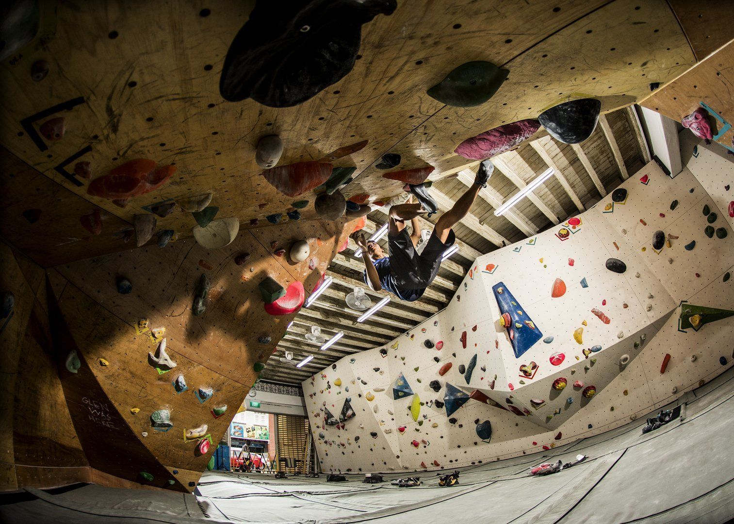651063c70db #1 It Enhances Cardio While Adding Muscle. Quite arguably the best aspect  to rock climbing ...