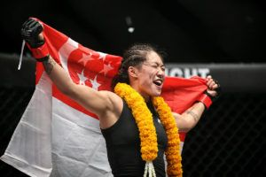 Angela Lee To Defend Title Against Istela Nunes In Singapore