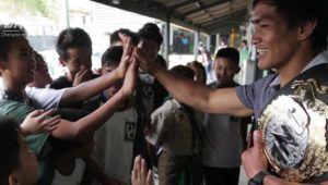 Eduard Folayang Makes Triumphant Return To University Of Cordilleras