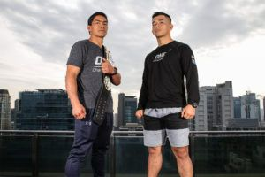 Eduard Folayang And Ev Ting Face Off In Manila