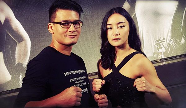 Thai Martial Arts' First Power Couple: Shannon Wiratchai And Rika Ishige