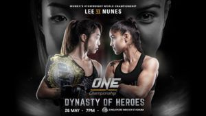 Angela Lee Defends ONE Women's Atomweight World Championship Against Istela Nunes