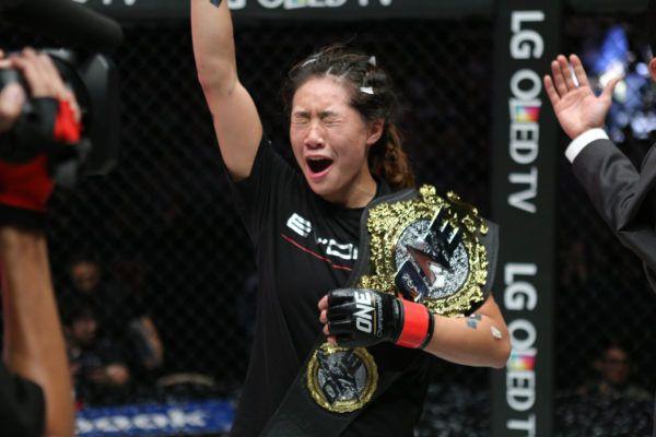 Angela Lee Looks Back On Her Title-Winning Moment