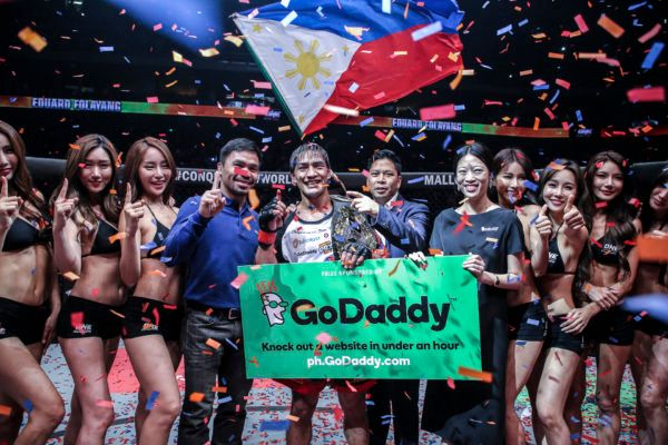 Eduard Folayang And GoDaddy Are Making A Difference In Children's Lives