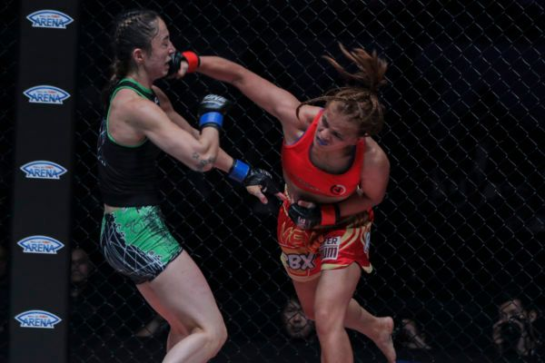 Team Lakay's Gina Iniong Makes Statement At ONE: KINGS OF DESTINY