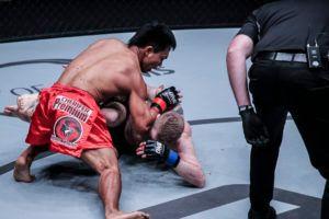 Kevin Belingon Overwhelms Toni Tauru With Strikes