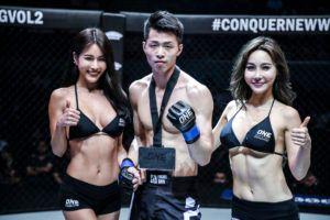 Xie Bin Chokes Out Chan Rothana