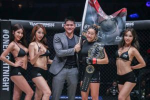 Angela Lee Remains Undefeated Champion With Submission Win