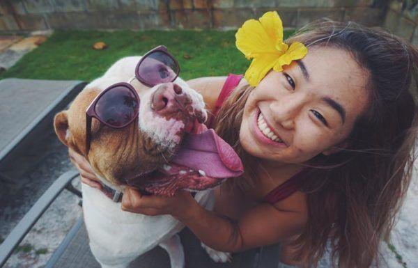 How A Bulldog Named Rocky Healed Angela Lee's Troubled Heart