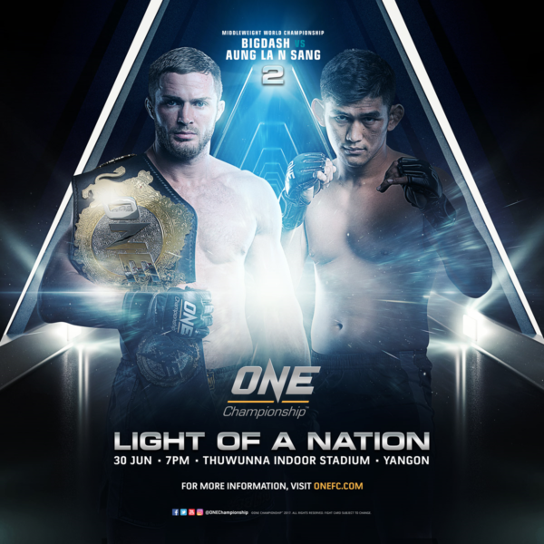 Vitaly Bigdash Faces Aung La N Sang In Highly-Anticipated Rematch At ONE: LIGHT OF A NATION
