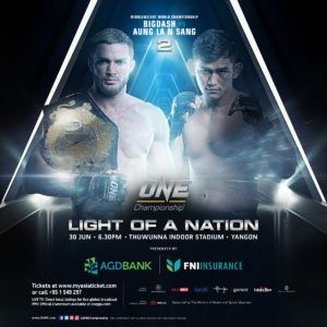 ONE Championship Announces Additional Bouts At ONE: LIGHT OF A NATION