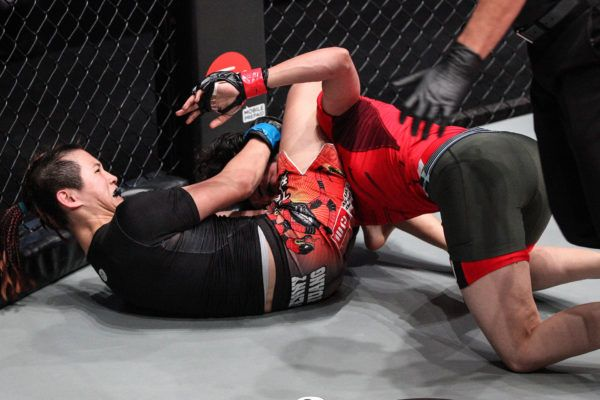 Full Fight: Jenny Huang VS Amira Badr