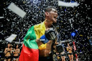 Aung La N Sang's Greatest Honor: His World Title