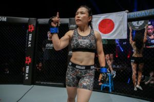 Mei Yamaguchi Submits Jenny Huang At ONE: LIGHT OF A NATION