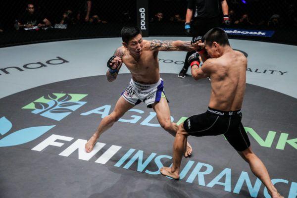 Kevin Chung VS Zhong Qing Ya