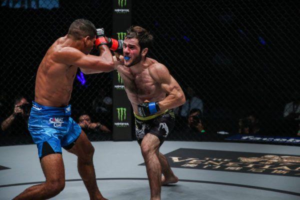 Magomed Idrisov Batters Herbert Burns, Earns Decision Victory