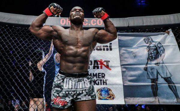 Kickboxing and Muay Thai World Champion Alain Ngalani
