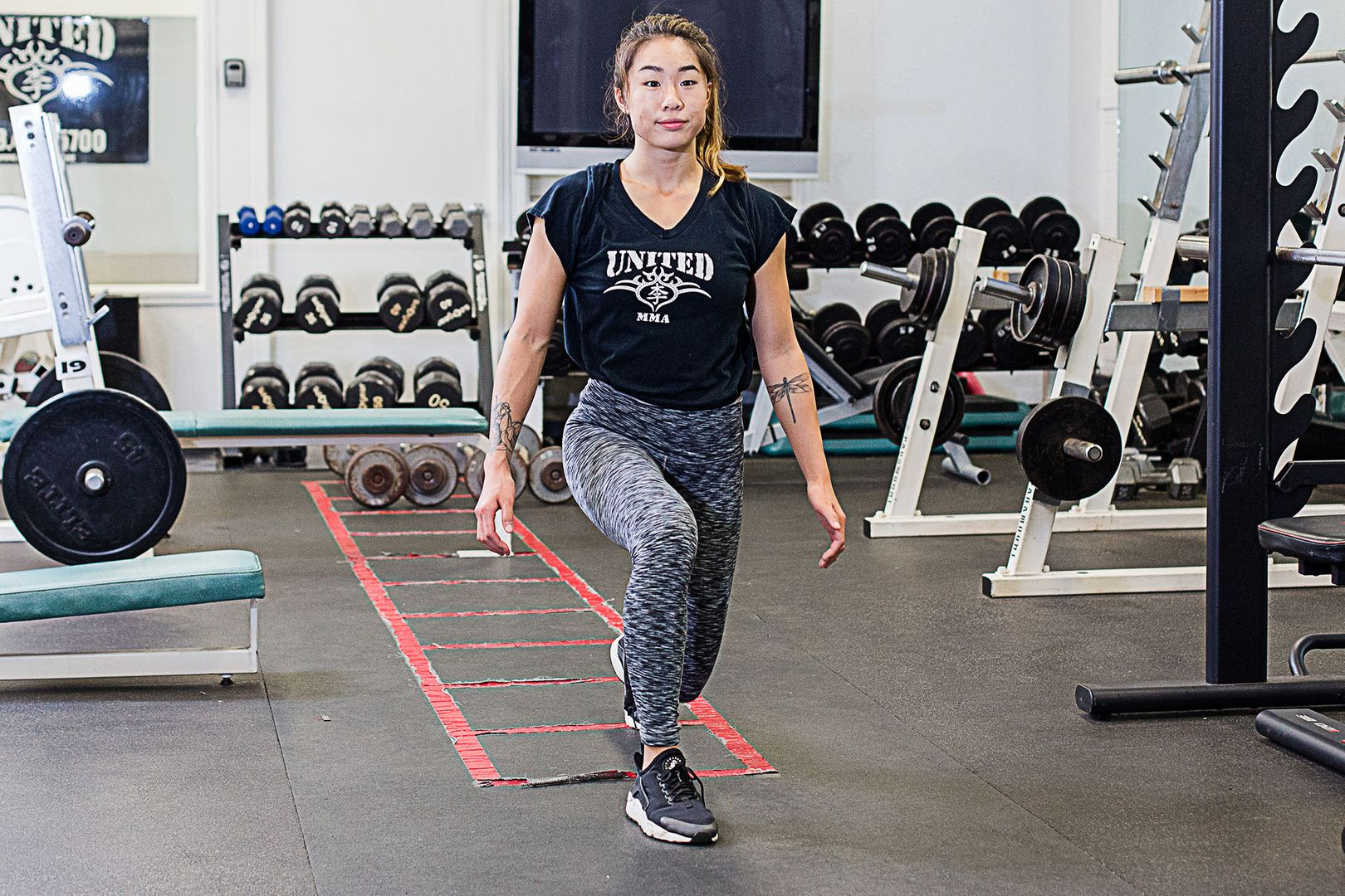 Get Fit On The Go With Angela Lee's Body-Weight Workout