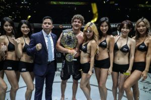 Ben Askren Retains ONE Welterweight World Championship By Dominating Zebaztian Kadestam