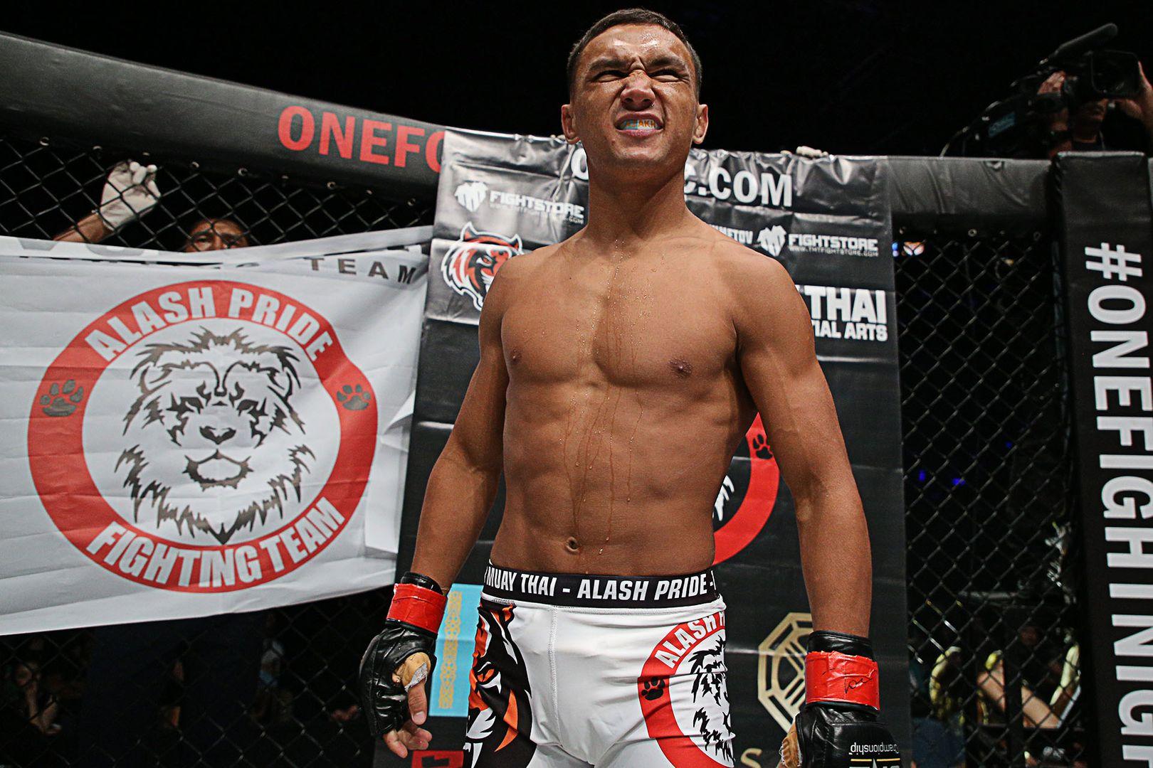 Kazakhstani MMA fighter Kairat Akhmetov