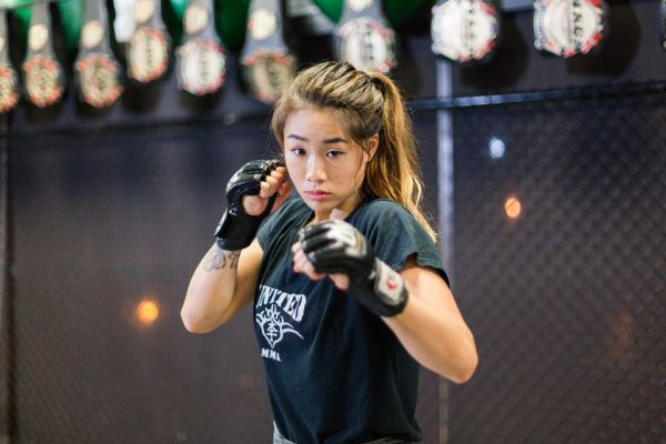 ONE Women's Atomweight World Champion Angela Lee at United MMA