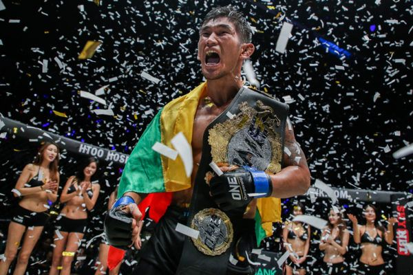 ONE Middleweight World Champion Aung La N Sang