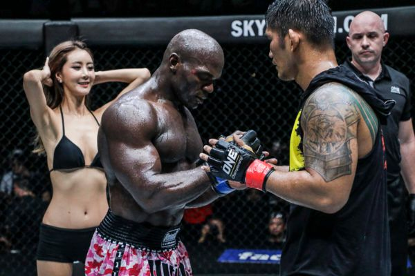 Aung La N Sang And Alain Ngalani's Martial Arts Spirit