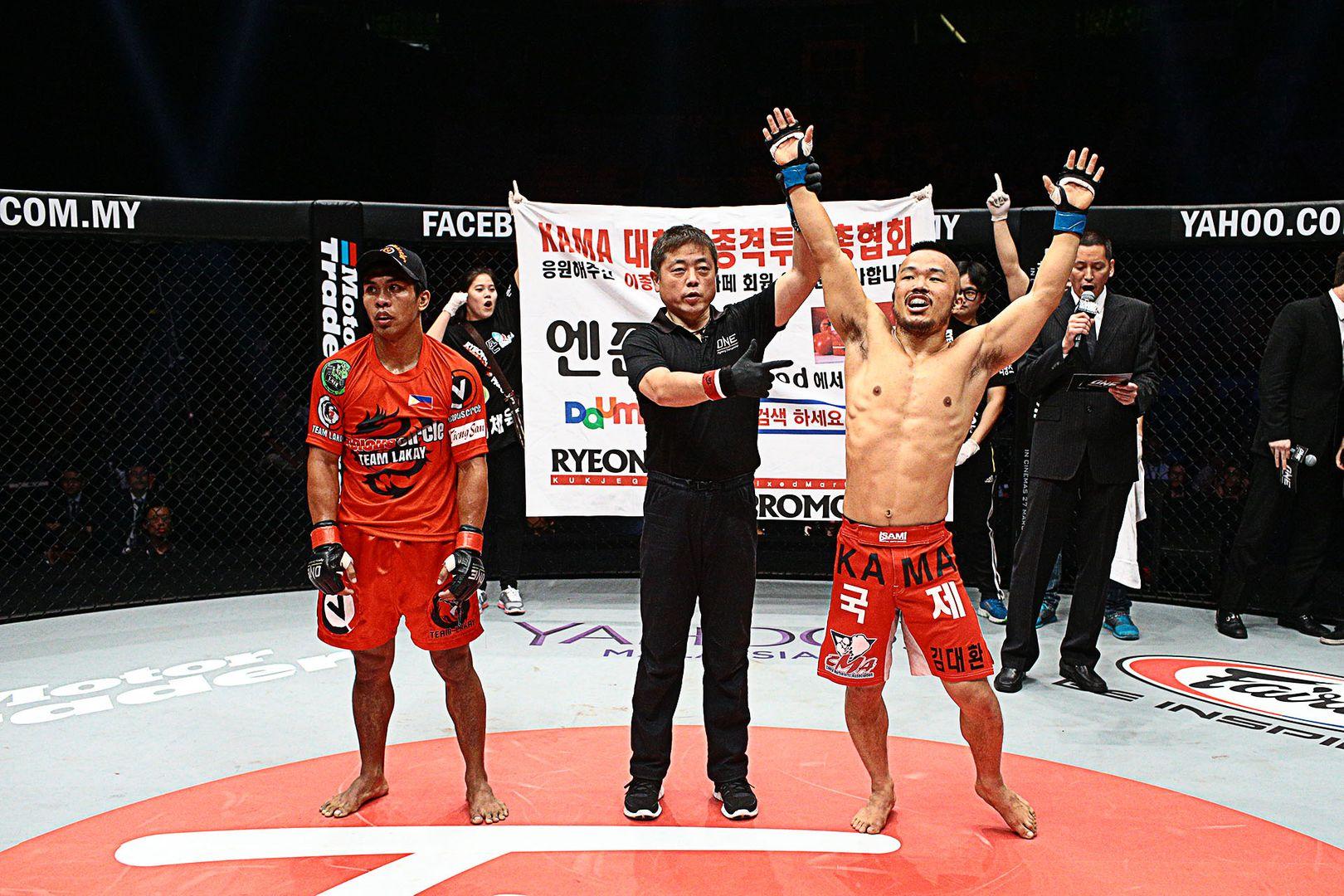 Dae Hwan Kim defeats Kevin Belingon