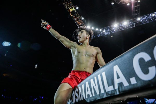 Joshua Pacio Scores Sensational Spinning Back Fist KO