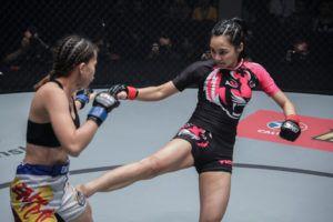 Rome Trinidad VS Rika Ishige