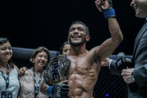 Alex Silva Captures ONE Strawweight World Title After Five-Round War
