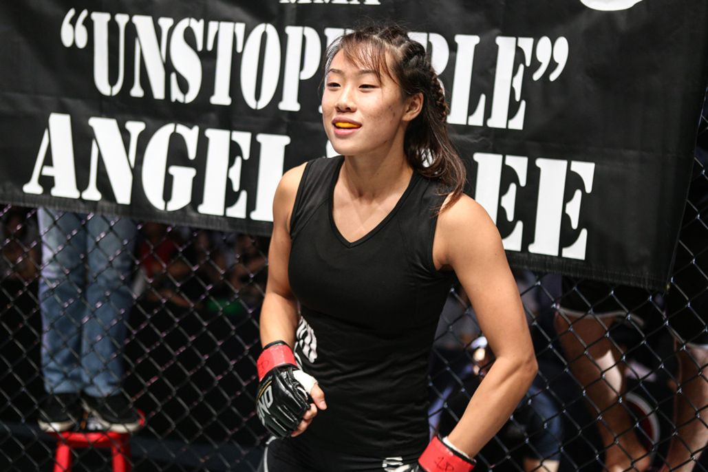ONE Atomweight World Champion Angela Lee