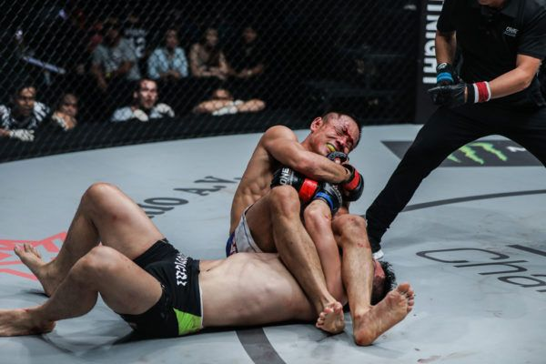Chen Lei submits Saiful Merican