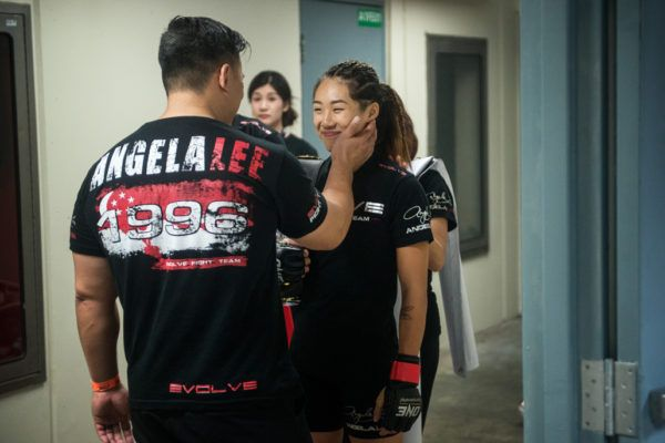 How Emotional Angela Lee Got Her Fire Back