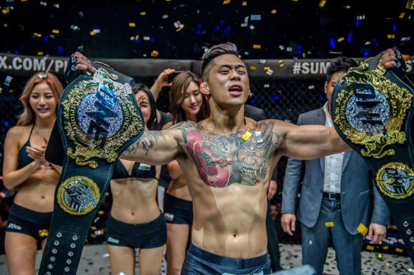 Martin Nguyen becomes the first tw-division ONE World Champion by beating Eduard Folayang