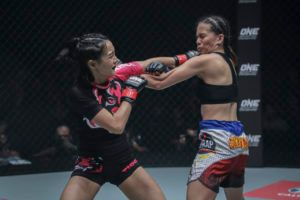 RIka Ishige Submits Rome Trinidad In Atomweight Clash