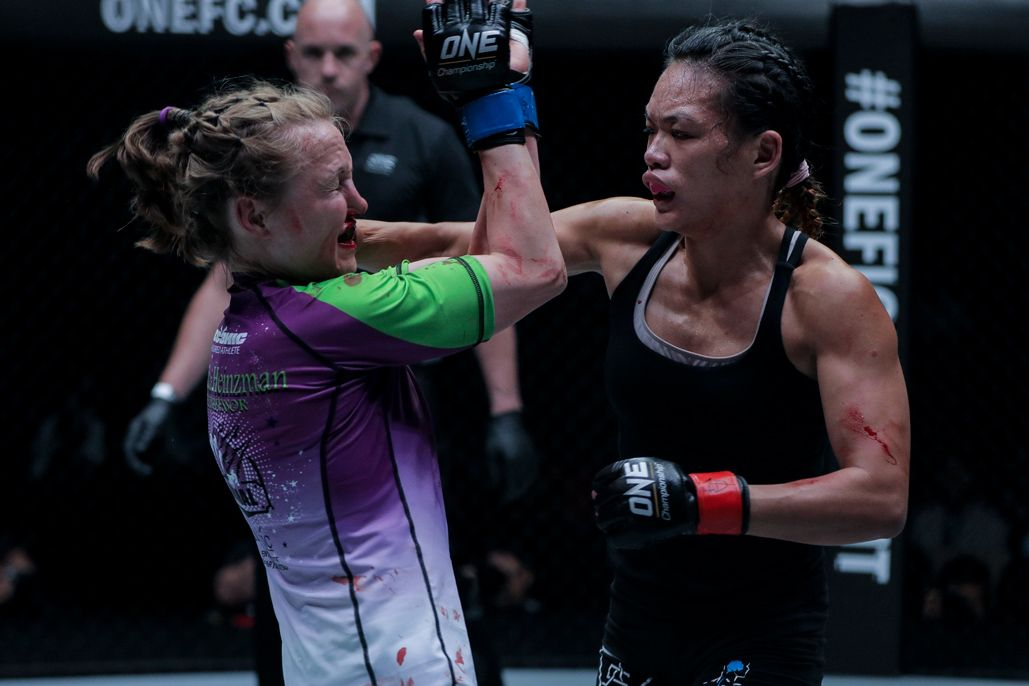 "ONE women's strawweight Tiffany ""No Chill"" Teo faces Rebecca Heintzman"