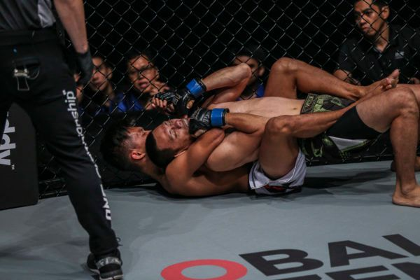 Adrian Mattheis Impresses With Submission Of Eddey Kalai