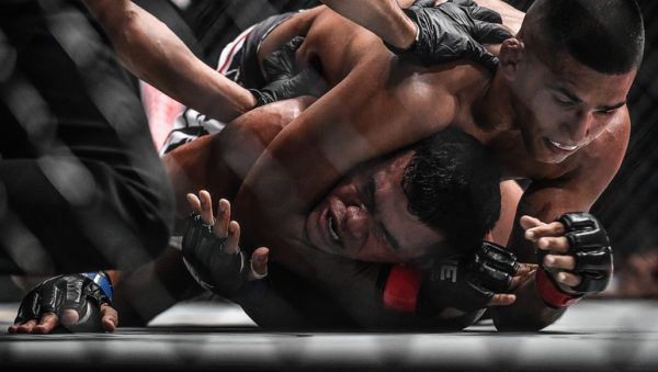 Agilan Thani's Rear Naked Choke Supremacy