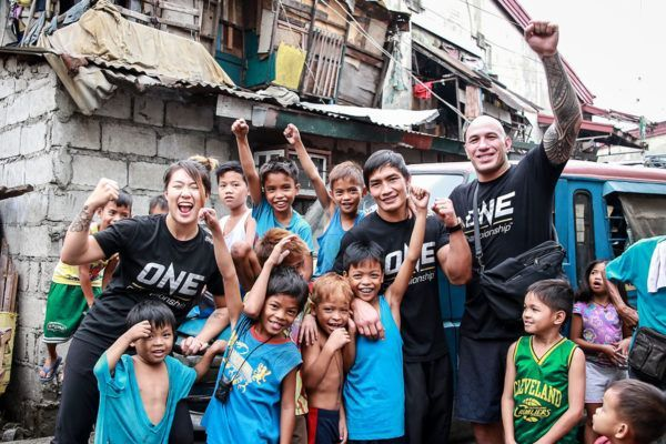 ONE Championship And Global Citizen's Great Start